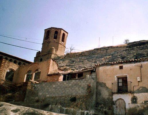 castillo de azlor - huesca - españa