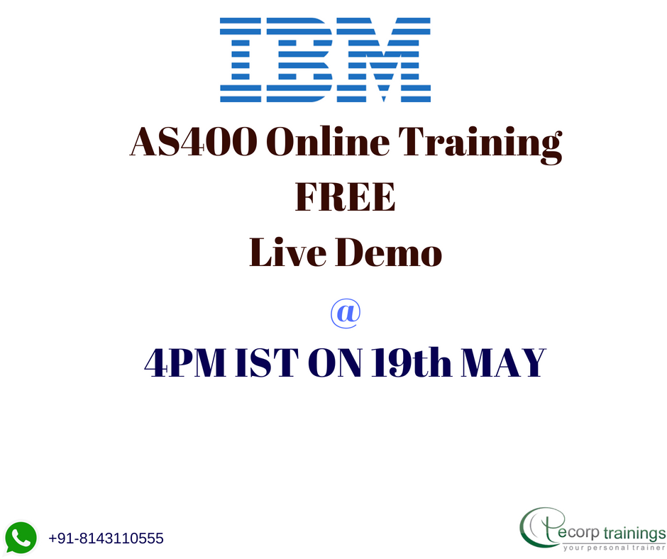 Best Institute For Learn Ibm As400 Online Training In Hyderabad