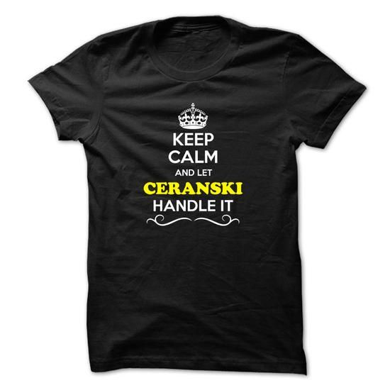 cool It's an CERANSKI thing, you wouldn't understand!, Hoodies T-Shirts