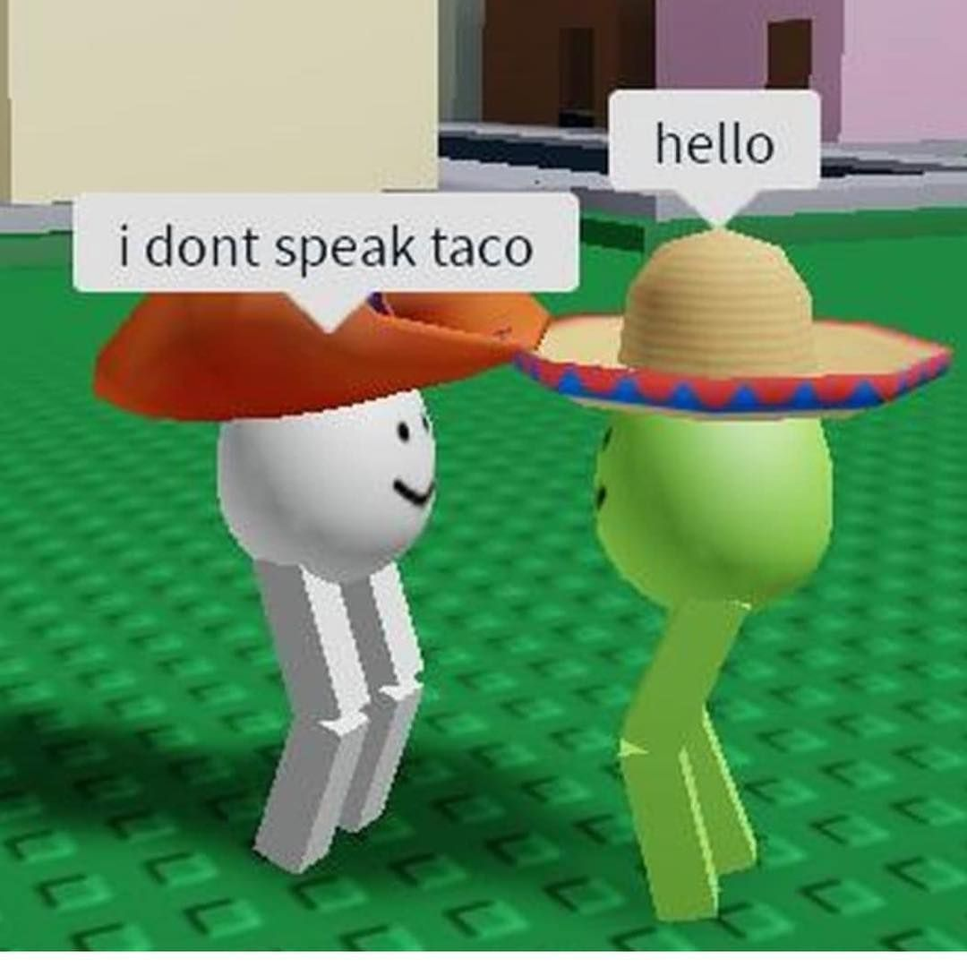 """Roblox Memes on Instagram: """"Tico-taco ⃠ #robloxmemes◼️ pic"""