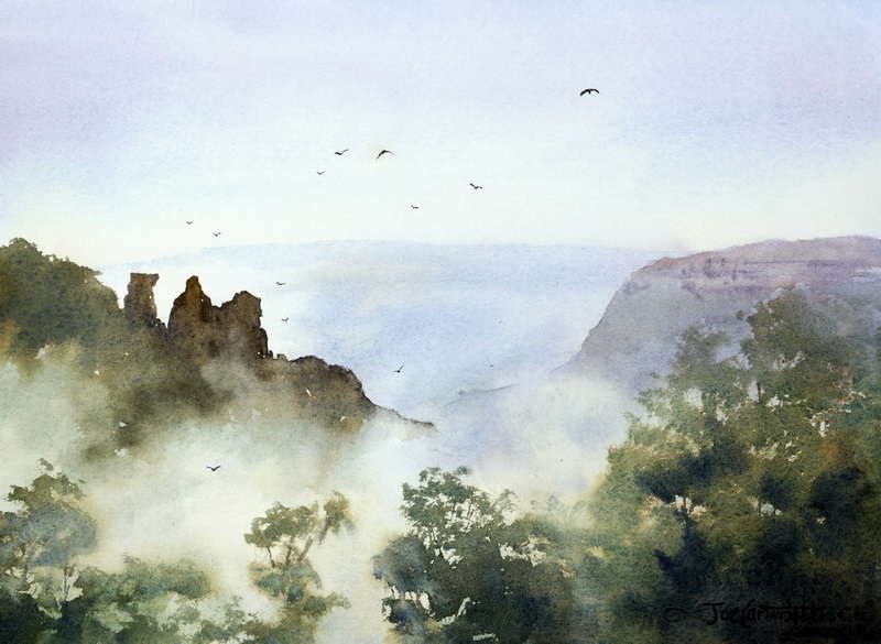 How To Paint Fog Using Oil Paints