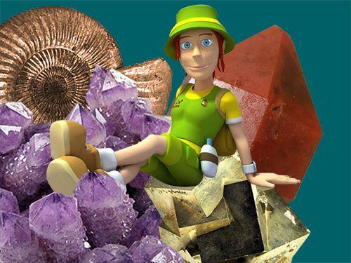 Gea y la formación de las rocas