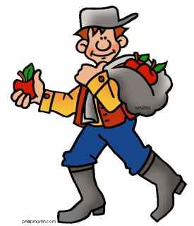 johnny appleseed clipart pack a lunch pinterest johnny rh pinterest com Johnny Appleseed Interactive Story Johnny Appleseed Day