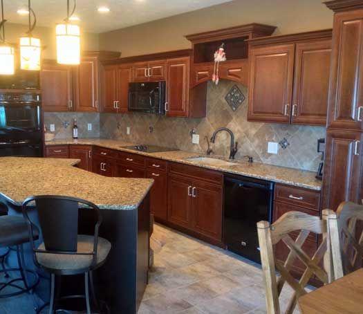 Kitchen Remodel In Nebraska. Designed By Bonnie Johnson With GV Kustom  Kitchens In Nebraska.