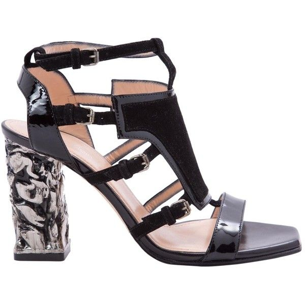 Free Shipping Websites Top Quality Online Pre-owned - Patent leather sandals Calvin Klein Discount Cheap Buy Cheap Footlocker Pictures rfmpmFH