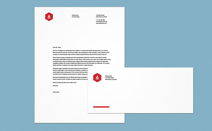 Create letterhead and an envelope Customize our handy templates to ...