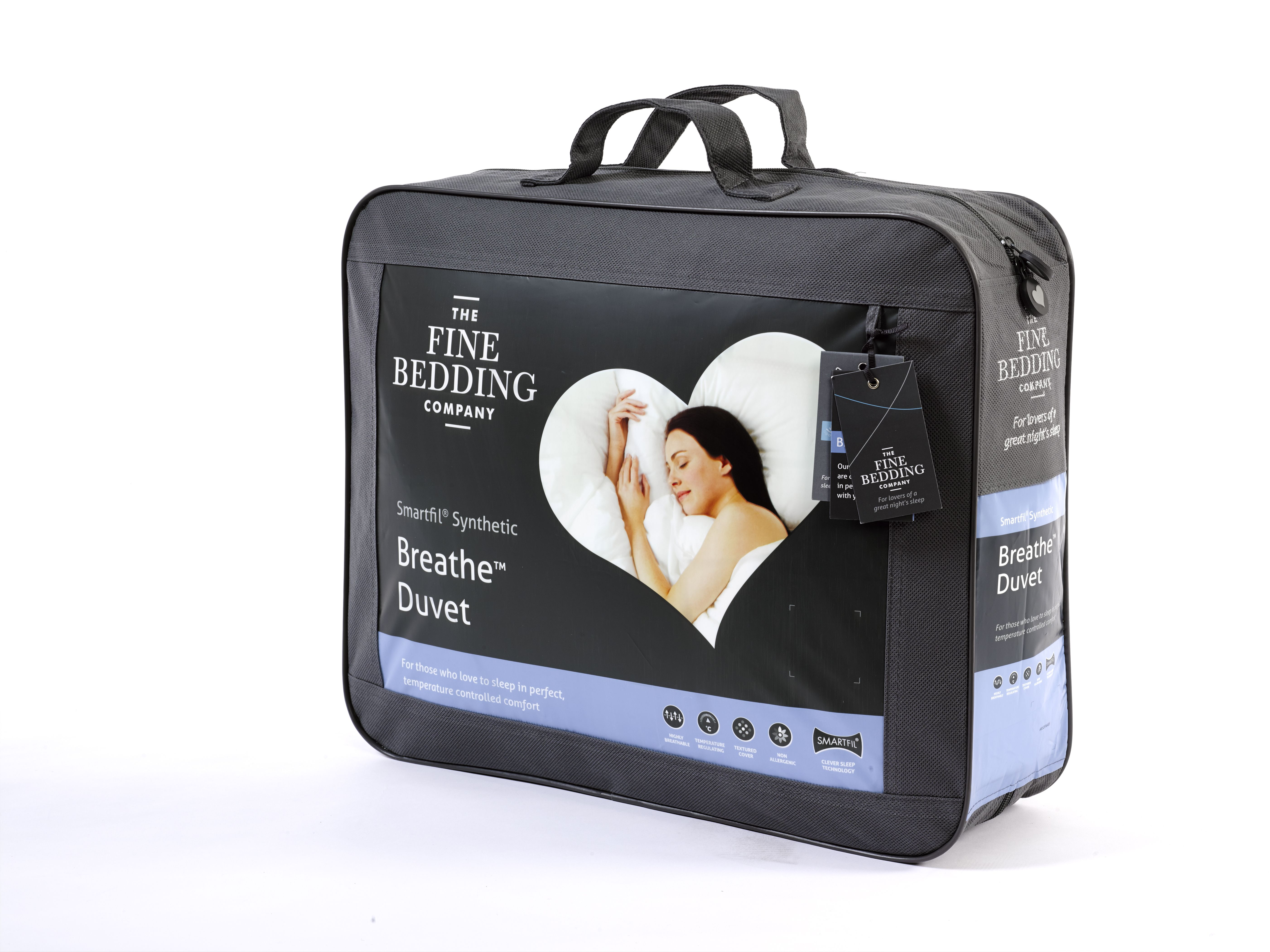 This luxuriously soft Breathe™ duvet by The Fine Bedding