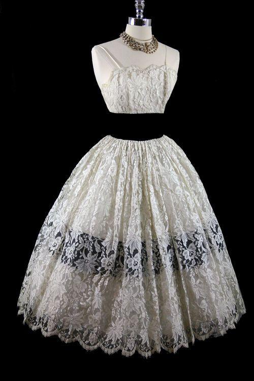 Vintage Lace Dress - Shop for Vintage Lace Dress at Polyvore ...