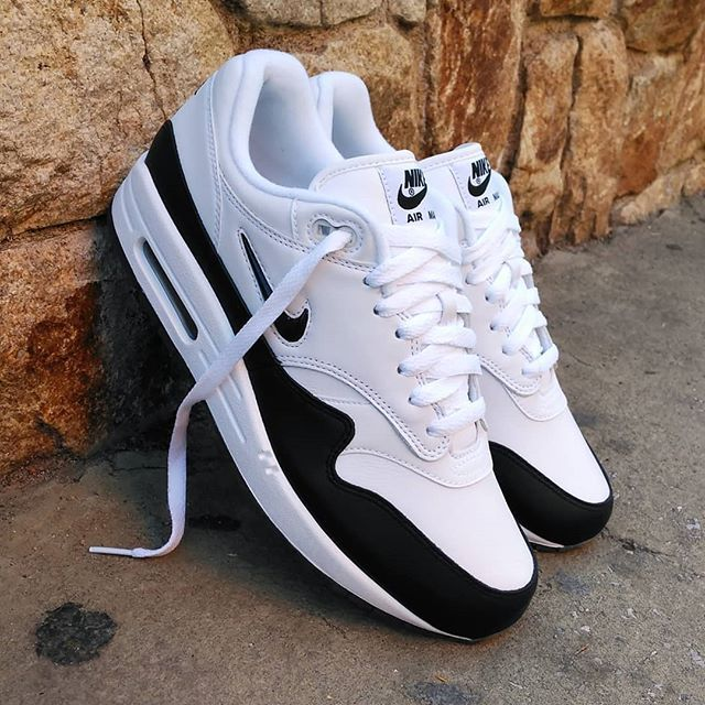 Nike Air Max 1 Premium Jewel Black White #airmax1 | Sneakers ...