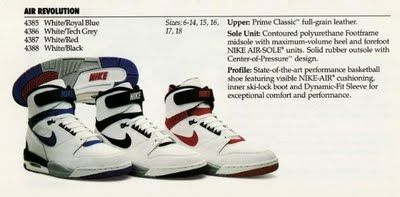 72b9ad3e6b8 Vintage Nike Catalog Basketball 1988 Catalogue