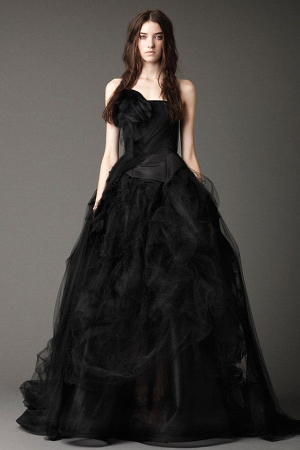 Fashion style Wedding Black dresses meaning pictures for woman