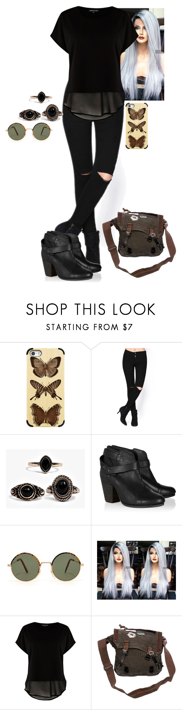 """""""Untitled #342"""" by ineshamblett ❤ liked on Polyvore featuring Casetify, Boohoo…"""