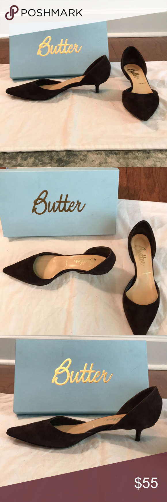 Butter Kitten Heels Shoes 7 5 Kitten Heel Shoes Kitten Heels Butter Shoes