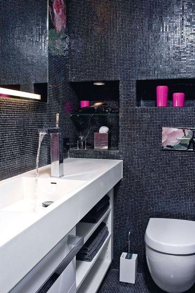 Petite salle de bains : 4m2 pour une salle d\'eau raffinée ...