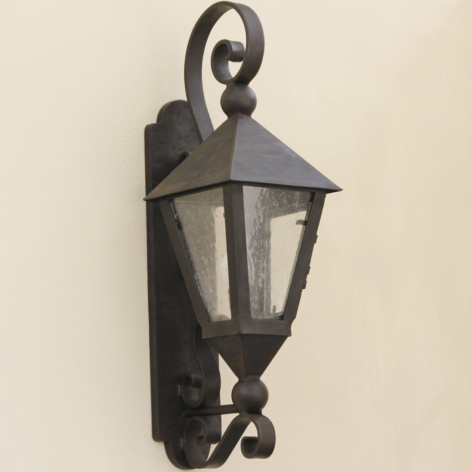Tuscan Spanish Style Outdoor Lighting Fixture In