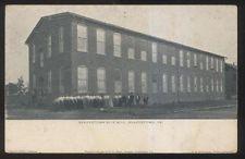 1906 Postcard Quakertown Pa Pennsylvania Silk Mill Factory