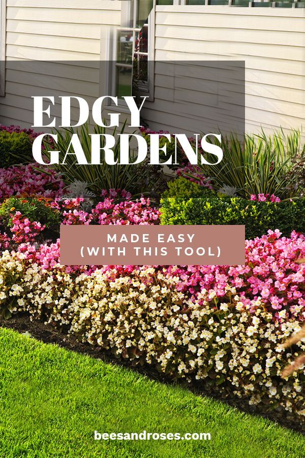 Do You Love A Crisp Edge To Your Lawn Before Your Flower Bed Have You Spent Too Many Back Breaking Hours Di Garden Tools Front Yard Landscaping Healthy Garden