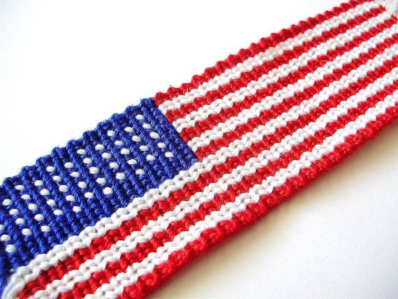 How To Make An American Flag Friendship Bracelet Pdf Tutorial