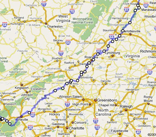 My Appalachian Mountain Drive – A travel diary through Blue Ridge ...