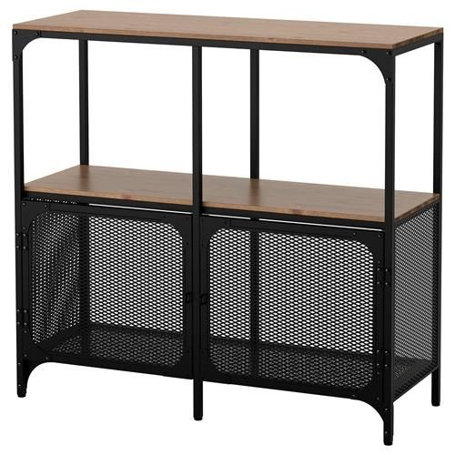 Fjallbo ikea pinterest for Ikea metal frame shelf