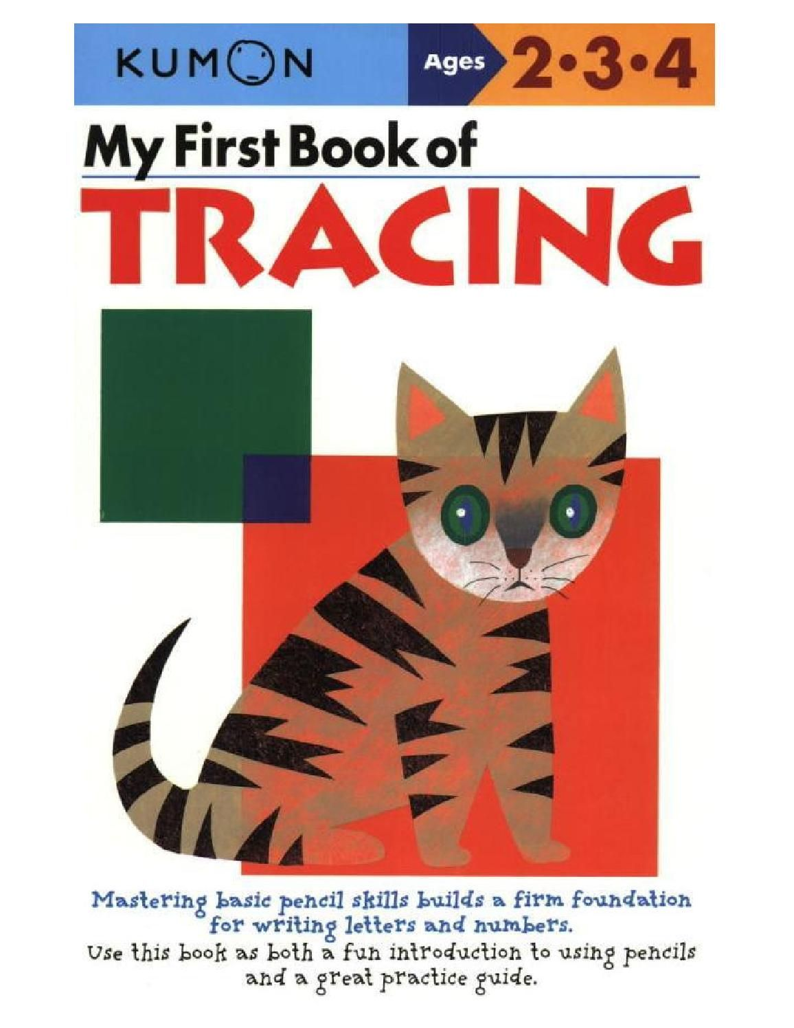 2 3 4 My First Book Ok Tracing