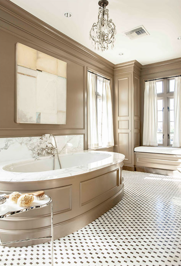 In Good Taste Barbara Westbrook Interior Design Bathroom