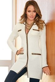 Textured sweater coat | GIGI'S FALL and WINTER FASHIONS PREVIEW ...