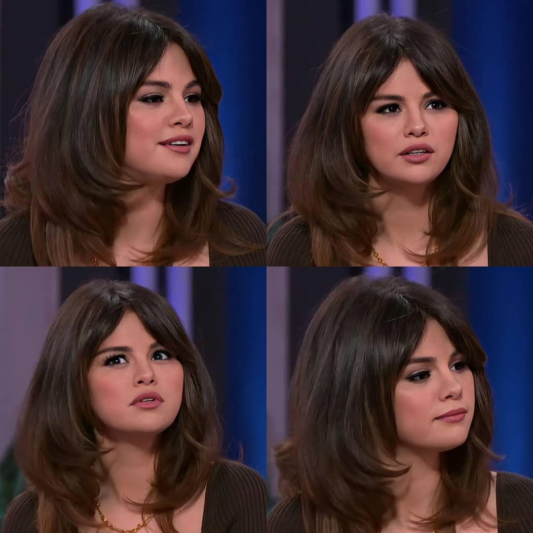 1 150 Likes 8 Comments Selena Gomez Recap Selenagomezrecap On Instagram Selena Gomez On Kell In 2020 Selena Gomez Hair Selena Gomez Haircut Selena Gomez Bangs