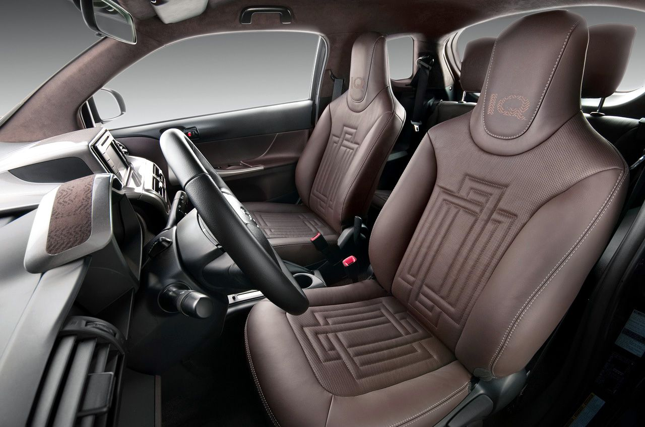 Toyota Iq Interior City Car Toyota Car Seats