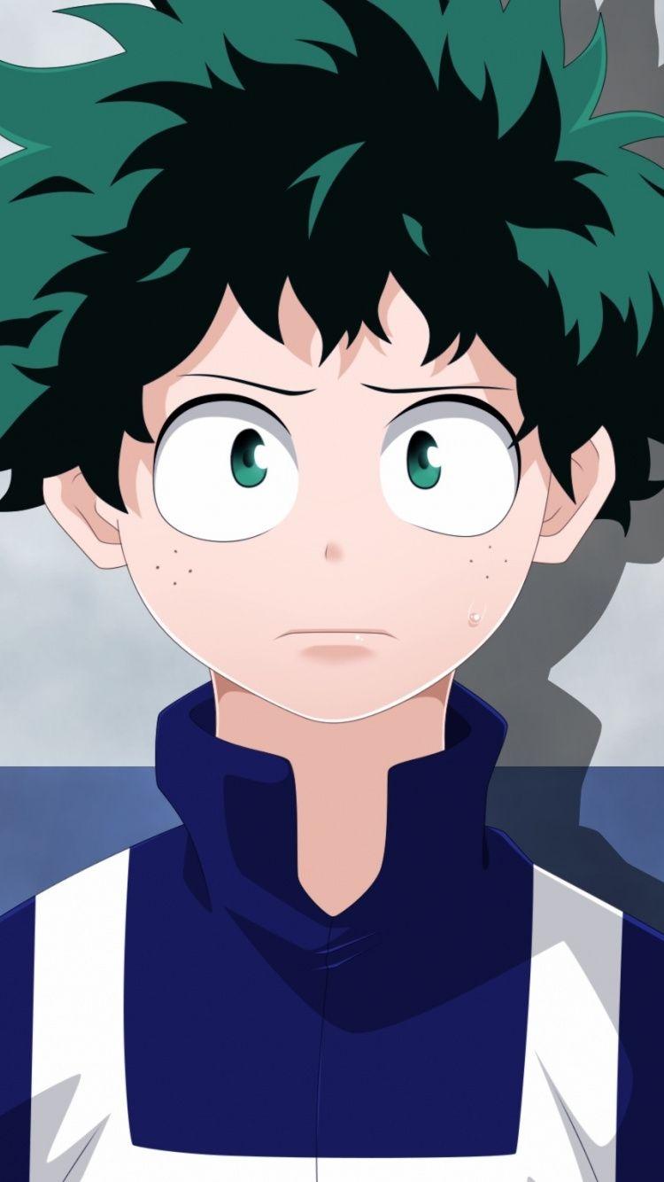 Cute Izuku Midoriya Anime Boy 750x1334 Wallpaper Anime Anime Boy Anime Wallpaper