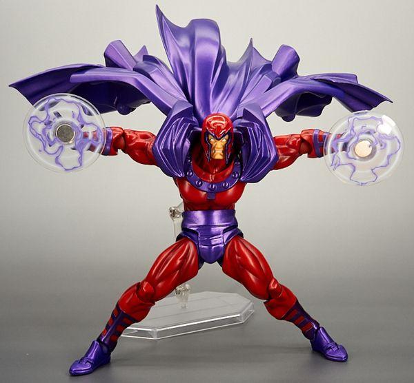 Kaiyodo Revoltech Amazing Yamaguchi Magneto Marvel Figure X-Men Toy New in Box