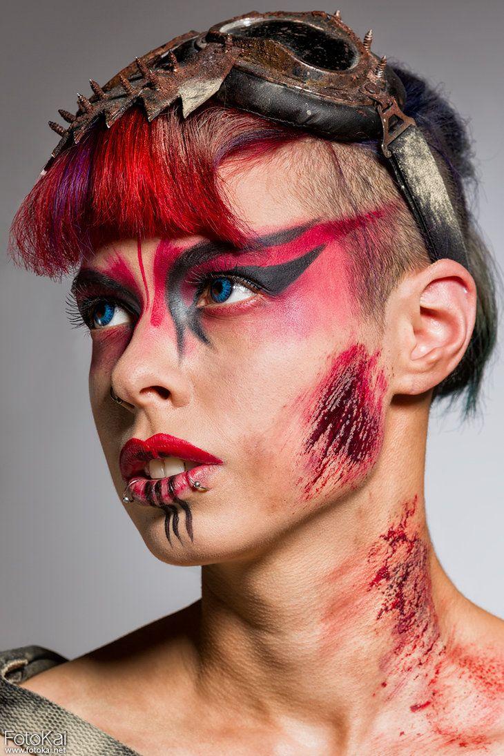 Warrior Headshot by Model-Azzy-X