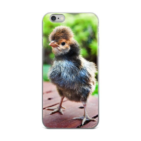 Chick phone case, chicken iphone case, chicken gift, baby chick, unique phone case, chick #3