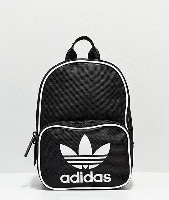 Adidas Santiago Black Mini Backpack In 2019 Zumiez Mini Backpack