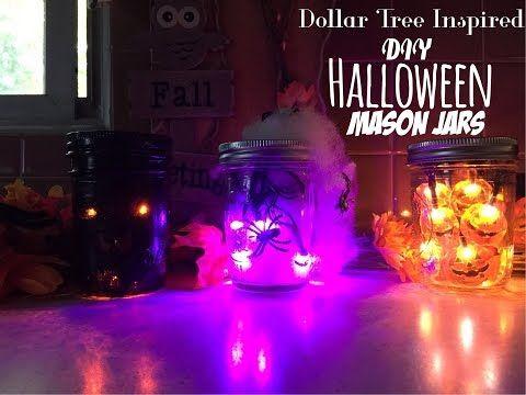 How To Make Halloween Lanterns! - YouTube All Hallows Eve - how to make halloween decorations youtube