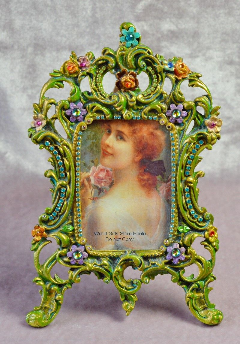 Michal negrin michal negrin brass photo frame swarovski crystal michal negrin michal negrin brass photo frame swarovski crystal detail jeuxipadfo Images