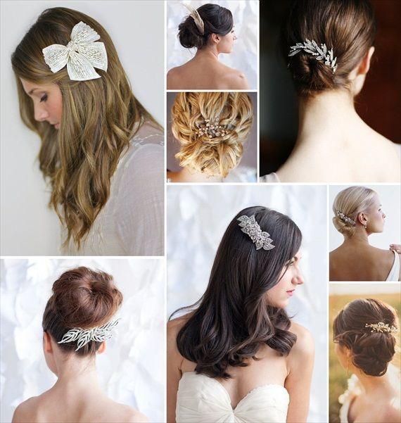 How To Wear A Hair Comb Hair Comb Hairstyles Emmaline Bride Vintage Hair Combs Hair Styles Hair Beauty