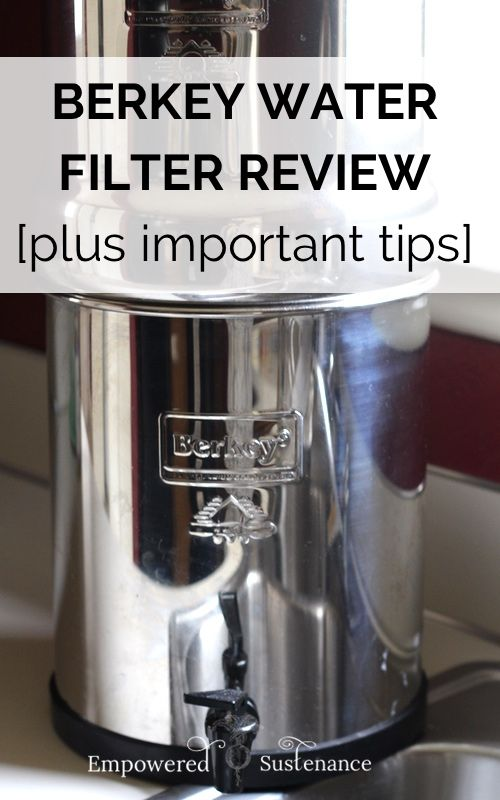 Berkey Water Filter Review Important Tips Helpful Tips