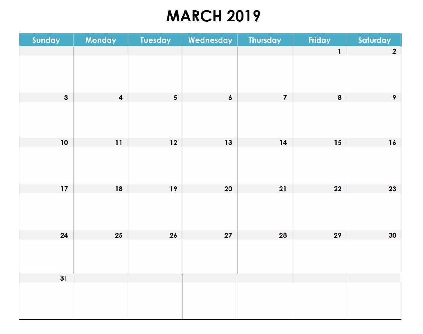 Calendar Template Excel 2019 from i.pinimg.com