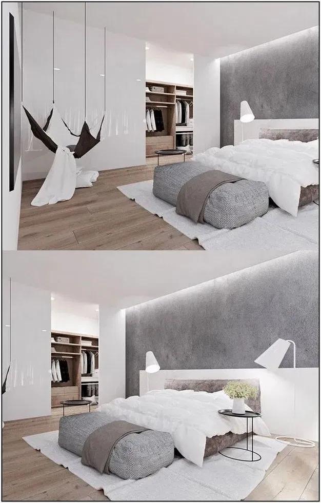 20+ Minimalist Bedroom Design Ideas for Simple Person Like ...