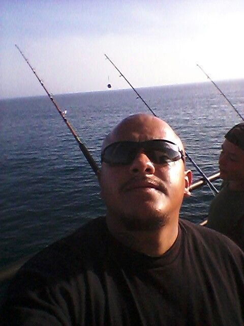 Huntington Beach Pier Fishing With