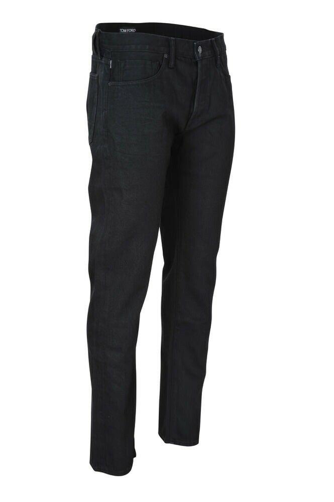34cb13d922 eBay #Sponsored Tom Ford Pantalon R Homme 34 Schwarz Straight Cotton Jeans