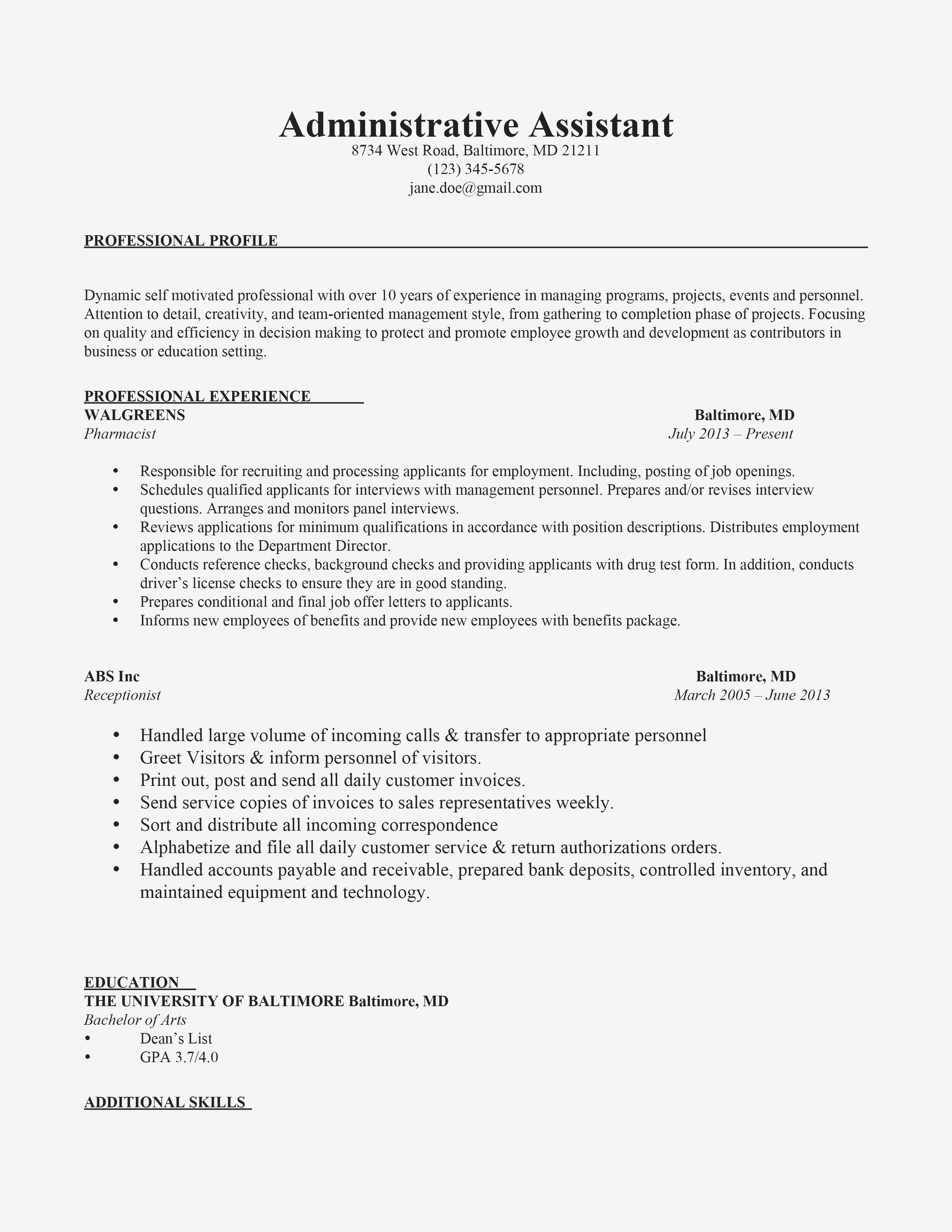 Important Points to Include in a Cover Letter Example