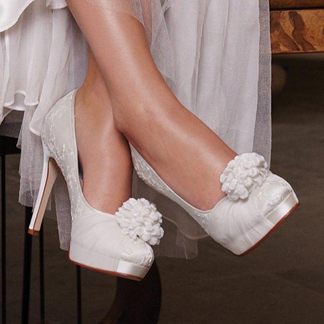 Zapatos Para Vestidos De Novia. Zapatos , el complemento perfecto ...