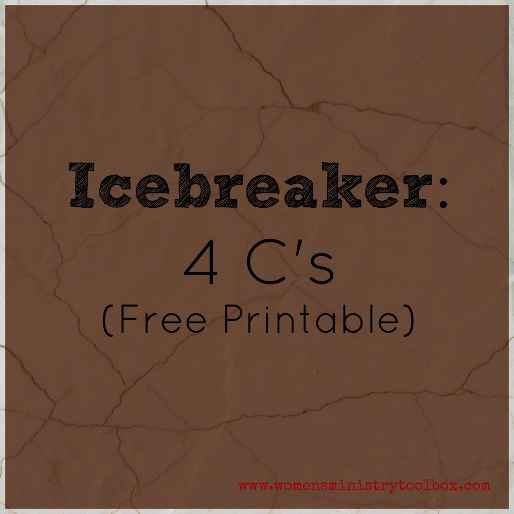 Christian Ice Breaker Games for Adults | Our Everyday Life