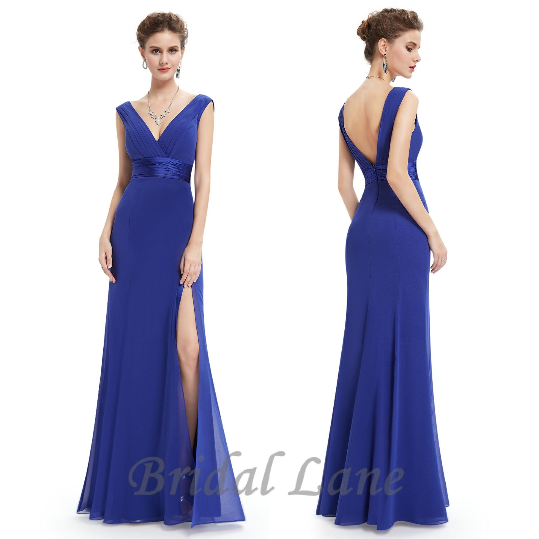 Royal blue evening dresses with slit for matric ball   matric farewell in  Cape Town - Bridal Lane  3 301e13dcc416