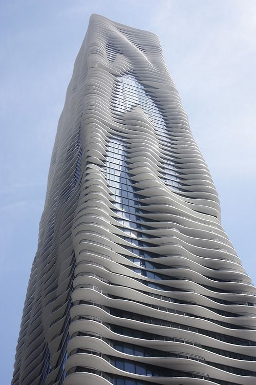 Aqua Tower In Chicago Architextures Famous