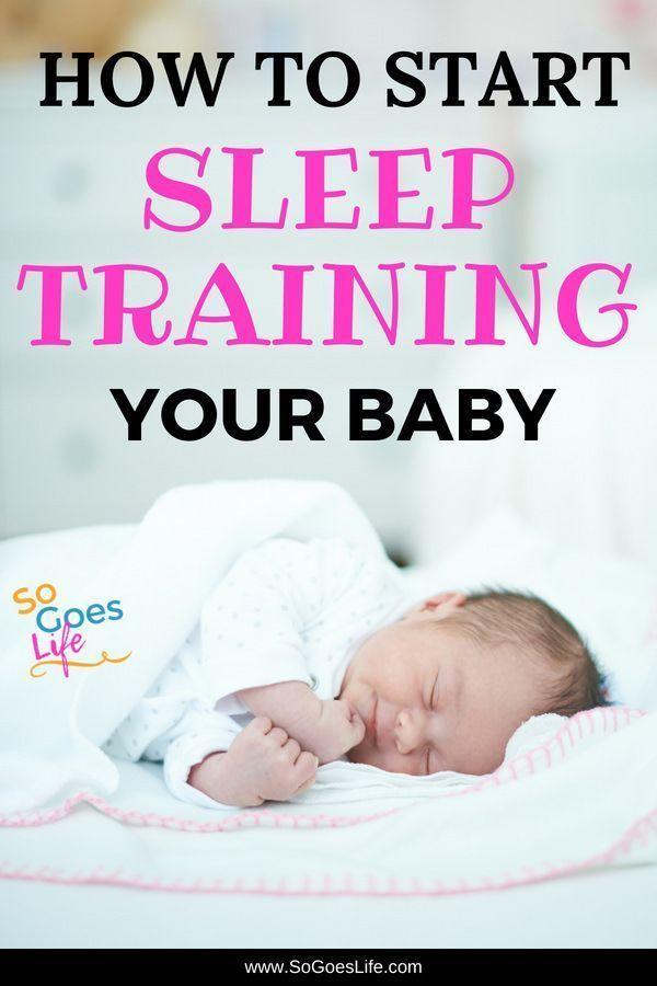 How to Start Sleep Training Your Baby   Gentle sleep ...