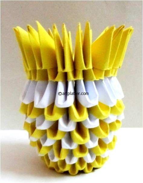Origami Vase Origami 3d Origami Origami 3d Origami Tutorial