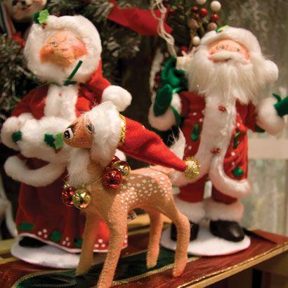 I love my Anna Lee Christmas Dolls. | I LOVE Anna Lee<33 ...